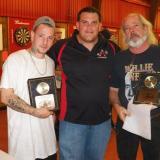 Tom Newcomb with MVPs Alan Clegg Jr & Sr