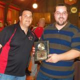 Tom Newcomb and MVP Mike Prescott