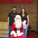 Matt Demers & Karyn Drago w/ Santa