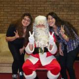 Fur and Krystal w/Santa