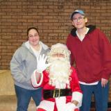 Nikki Kelley & Tony the TIT w/ Santa