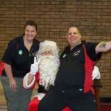 Eileen & Dave Leonard w/Santa