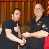 JP McGann & President Dave Leonard